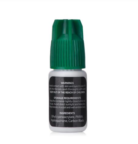 IB Ultra Super Glue - Black - Franslim - 1-2 sek - 5ml