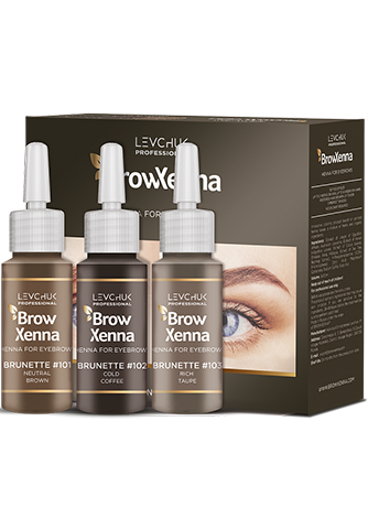 Brow Henna - Set Brunette