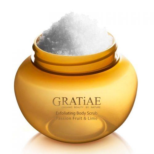 GRATiAE - Exfoliating Body Salt Scrub - Passion Fruit & Lime