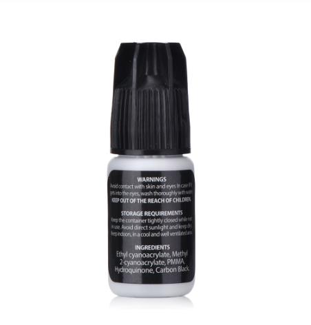 IB Sensitive Glue (for very sensitive person) - Black - Franslim - 5ml