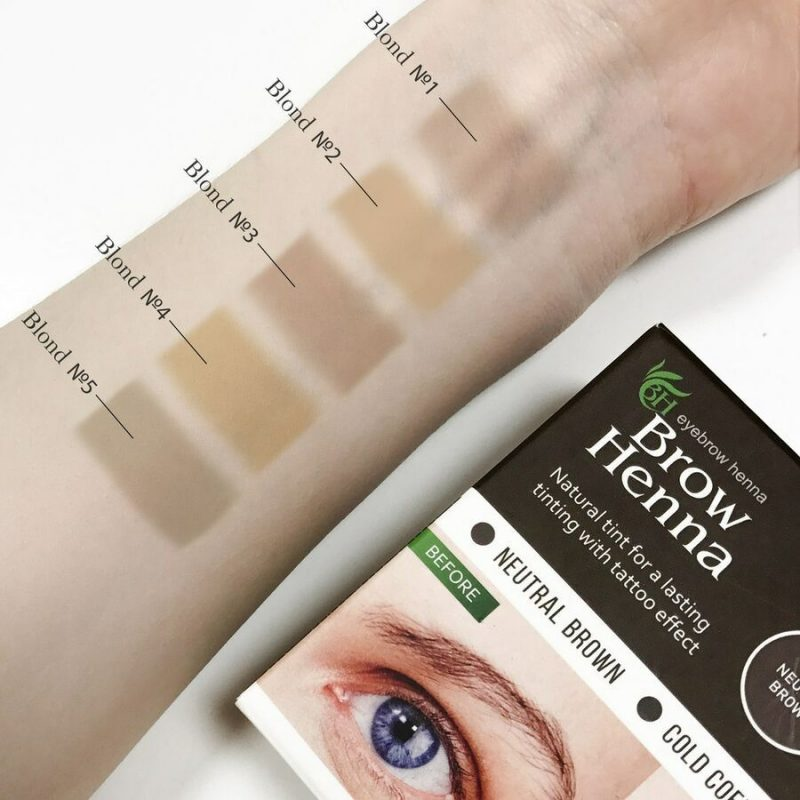 Brow Henna - Blond Colours
