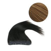 Clips Hair - 1P - Rakt - 100g - Honey Brun - #12