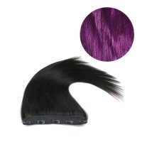 Clips Hair - 1P - Rakt - 100g - Lila - #Purple