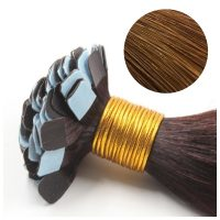 Mini Tape Hair - Rakt - 50g - Brun - #8
