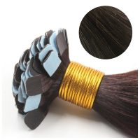 Mini Tape Hair - Rakt - 50g - Brunsvart - #2