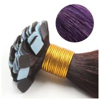 Mini Tape Hair - Rakt - 50g - Lila - #Purple