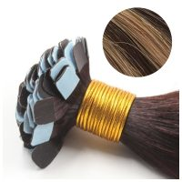 Mini Tape Hair - Rakt - 50g - Mixcolour - #4-2-7