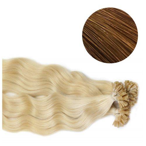 Nail Hair - Wavy - 50g - Brun - #8