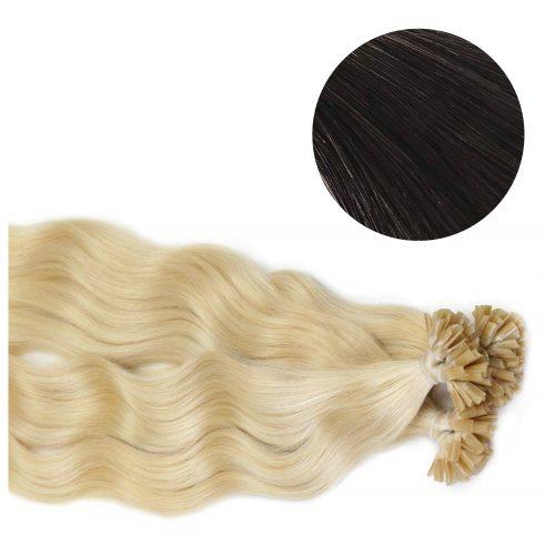 Nail Hair - Wavy - 50g - Brunsvart - #2