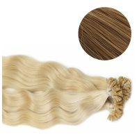 Nail Hair - Wavy - 50g - Honey Brun - #12