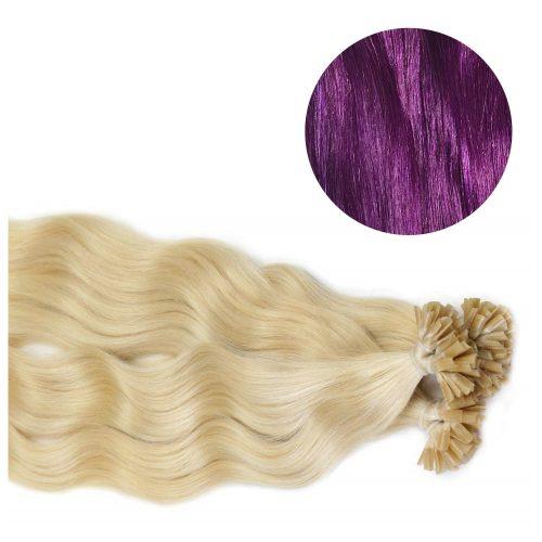 Nail Hair - Wavy - 50g - Lila - #Purple