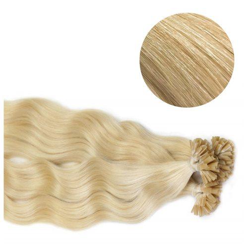 Nail Hair - Wavy - 50g - Ljusblond - #60