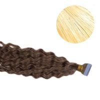 Tape Hair - Curly - 50g - Blond - #24
