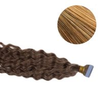 Tape Hair - Curly - 50g - Mörk Guldblond - #27