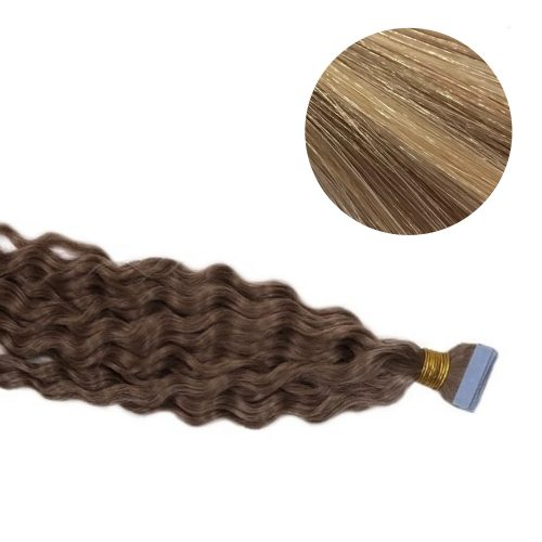 Tape Hair - Curly - 50g - MixColour - #18/22