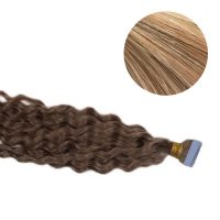 Tape Hair - Curly - 50g - MixColour - #27/613
