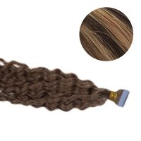 Tape Hair - Curly - 50g - MixColour - #4/27