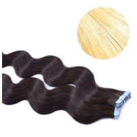 Tape Hair - Wavy - 50g - Blond - #24