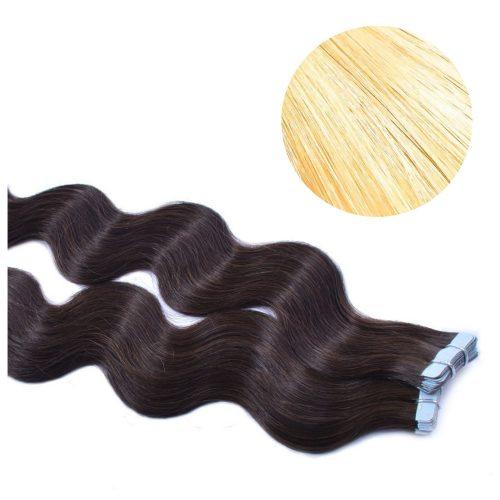 Tape Hair - Wavy - 50g - Blond - #24