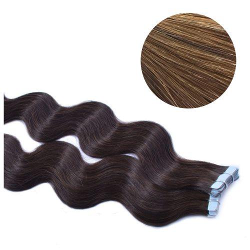 Tape Hair - Wavy - 50g - Guld Blond - #16