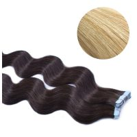 Tape Hair - Wavy - 50g - Ljusblond - #60