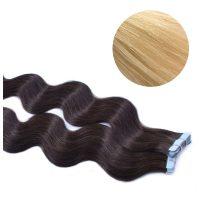 Tape Hair - Wavy - 50g - Ljusguldblond - #613