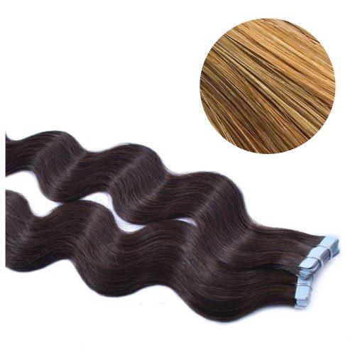 Tape Hair - Wavy - 50g - Mörk Guldblond - #27