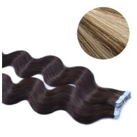 Tape Hair - Wavy - 50g - MixColour - #18/60