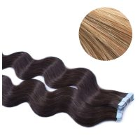 Tape Hair - Wavy - 50g - MixColour - #27/613