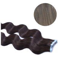 Tape Hair - Wavy - 50g - Silver - #Silver