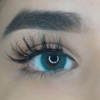 Färgade linser - 1 års - 0.00 styrka - Blue