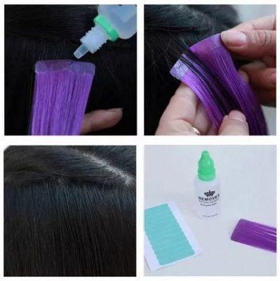 Tape Hair borttagning - Hur man gör - IDANA Beauty
