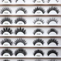 Mink 3D Lashes - TS29-TS42 - IDANA Beauty