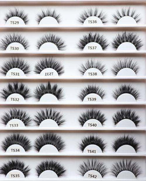 Mink 3D Lashes - TS29-TS42 - IDANA Beauty